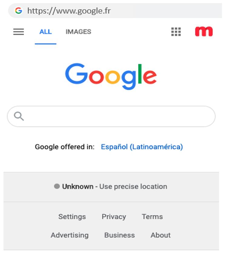 1. google fr