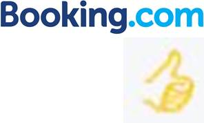 logo booking.com y hotel preferente