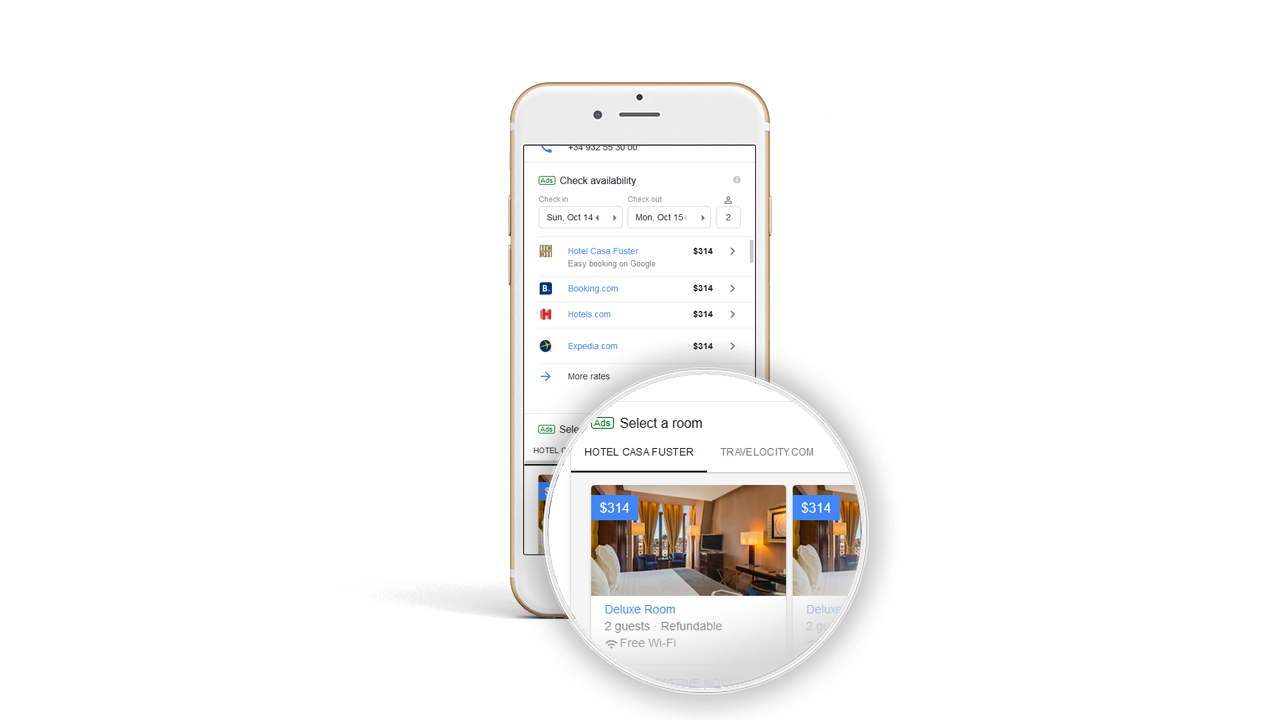 Room Booking Module: Google incorporates room photos to Hotel Ads results