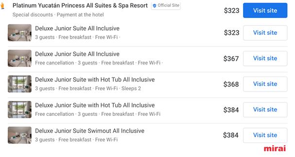 fotos google hotel ads