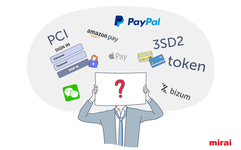 choose the best payment processor according to Mirai